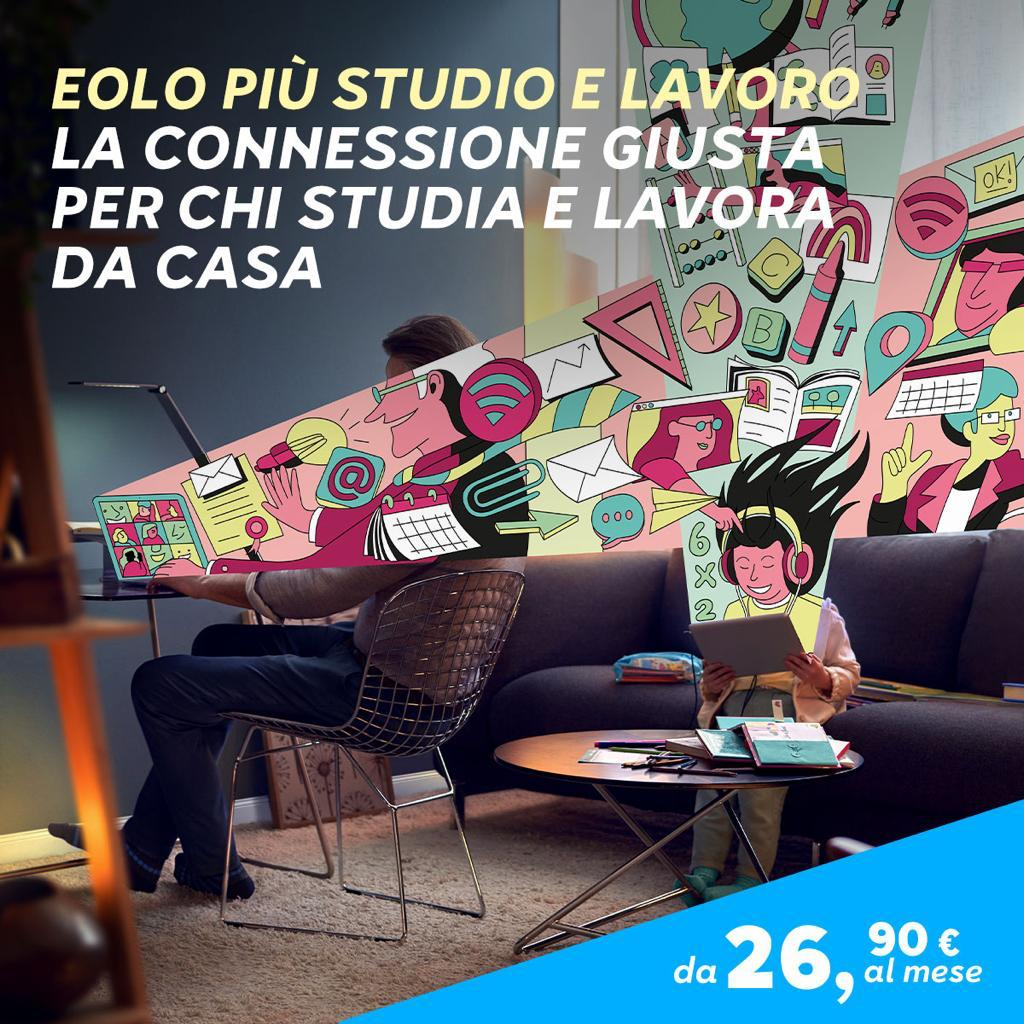 Eolo Più Studio e Lavoro